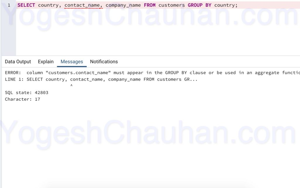 distinct-on-query-output-yogesh-chauhan-6