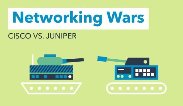 Networking Wars CISCO vs Juniper
